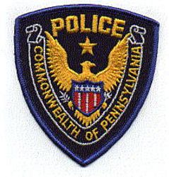 Commonwealth of Pennsylvania Police Patch (PA)