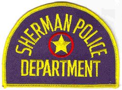 Sherman Police Patch (TX)