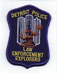 Detroit Police Law Enforcement Explorers Patch (MI)
