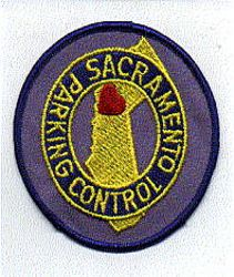 Sacramento Parking Control Patch (CA)