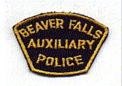 Beaver Falls Aux. Police Patch (small) (PA)