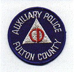 Misc: Fulton Co. Aux. Police Civil Defense Patch