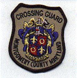 Montgomery Co. Crossing Guard Patch (small) (MD)