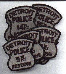 Detroit Pol Res-Set(10)5,6,7,10,14,15,16,Ren-Cen,DMPA,cent