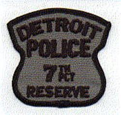 Detroit Police 7th PCT Reserve Patch (MI)