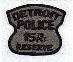 Detroit Police 15th PCT Reserve Patch (MI)