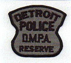 Detroit Police D.M.P.A. Reserve Patch (MI)