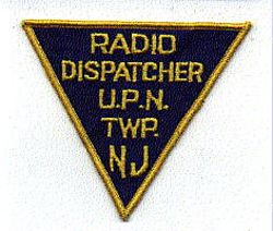 U.P.N. Twp. Radio Dispatcher Patch (NJ)