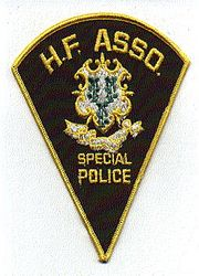 H.F. Asso. Special Police Patch (CT)