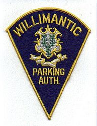 Willimantic Parking Auth. Patch (CT)