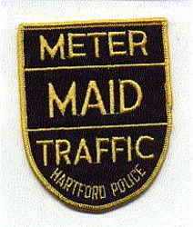 Hartford Meter Maid Traffic Police Patch (CT)