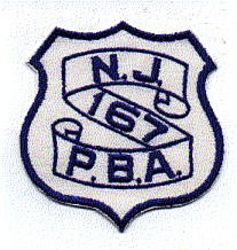 P.B.A. 167 Patch (NJ)