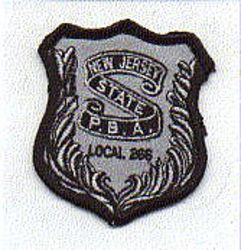 P.B.A. Local 266 Patch (cap size) (NJ)