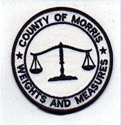 Morris Co. Weights and Measures Patch (NJ)