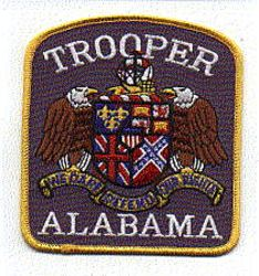 State: AL, Trooper Patch (large)