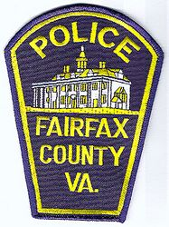 Fairfax Co. Police Patch (building) (VA)
