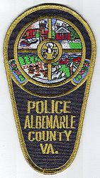 Albemarle Co. Police Patch (VA)