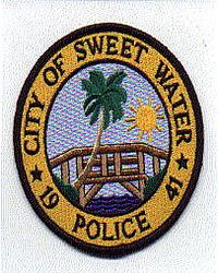 Sweet Water 1941 Police Patch (FL)