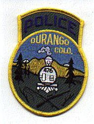 Durango Police Patch (CO)