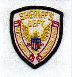 Sheriff: MS, Hinds Co. Jackson Sheriffs Dept. Patch (cap size)