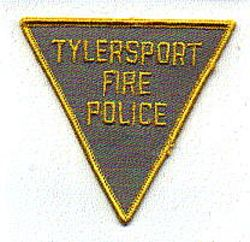 Misc: Tylersport Fire Police Patch (tan/yellow)