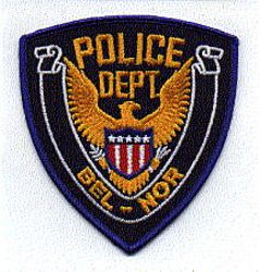 Bel-Nor Police Patch (eagle) (MO)