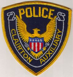 Clairton Aux. Police Patch (PA)