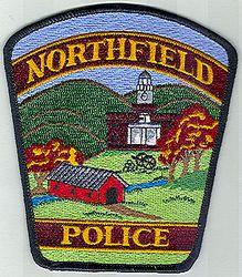 Northfield Police Patch (VT)