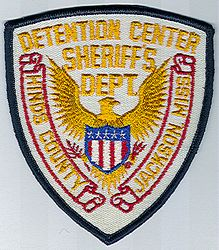 Sheriff: MS, Hinds Co. Detention Ctr. Sheriffs Dept. (black edge)