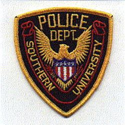 School: LA, Southern University Police Patch