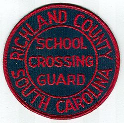 Richland Co. School Crossing Guard Patch (SC)
