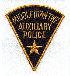 Misc: Middletown Twp. Aux. Police Patch