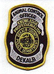 Dekalb Co. Police Animal Control Officer Patch (GA)