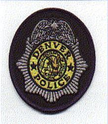 Denver Police Patch (badge patch) (CO)