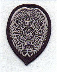 Dept. of Correction A.D.C. Patch (badge patch) (AR)