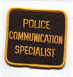 Misc: Police Communication Specialist Patch
