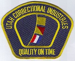 Correctional Industries, Quality On Time Patch (UT)