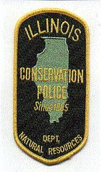 Park: IL, Dept. of Natural Resources Conservation Police Patch