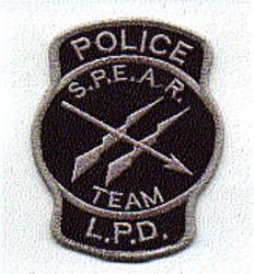 Misc: S.P.E.A.R. Team Police L.P.D. Patch