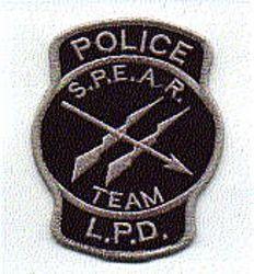 Misc: S.P.E.A.R. Team Police L.P.D. Patch