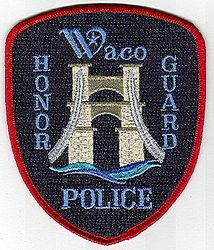 Waco Honor Guard Police Patch (TX)