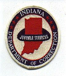 Dept. of Correction Juvenile Services Patch (IN)