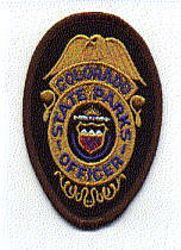 Park: CO, State Parks Officer Patch (badge patch)