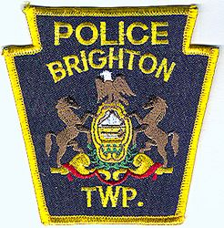 Brighton Twp. Police Patch (PA)