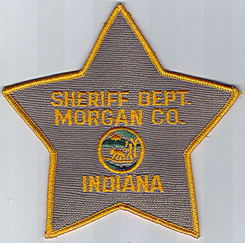 Morgan County Sheriff Dept Indiana In Police Patch Insignia
