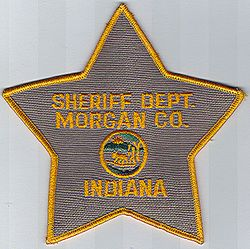 Sheriff: IN, Morgan Co. Sheriff Dept. Patch