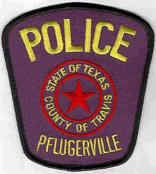 Pflugerville Police Patch (TX)