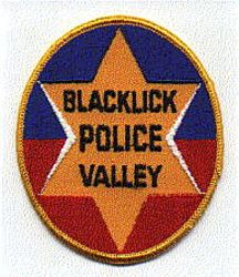 Blacklick Valley Police Patch (PA)