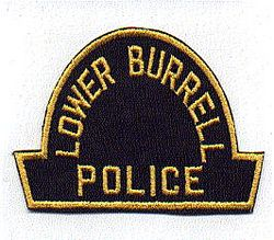 Lower Burrell Police Patch (black/yellow) (PA)
