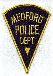 Medford Police Patch (triangular) (NJ)